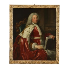 Portrait of John Carteret Earl of Granville Painting 1744