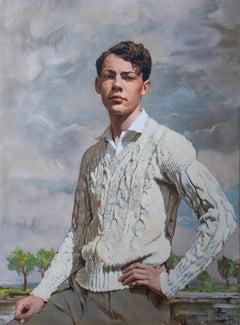 Portrait Of John Davison, circa 1930 by Thomas Davison