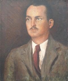 Portrait of Man - likeness of Django Reinhardt