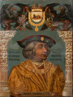 Portrait Of Maximilian I Holy Roman Emperor & Archduke of Austria, 17th Century