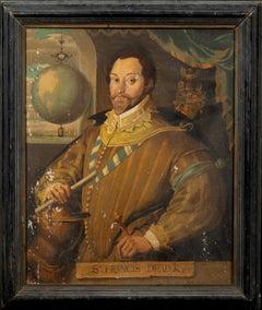 Portrait Of Sir Francis Drake (1540-1596)