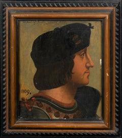 Portrait of Sir James Douglas (1286-1330) Scottish Knight - Wars Of Independence