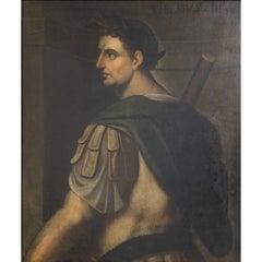 Portrait of the Emperor Tiberius, Follower of Bernardino Campi, pr. 17th Century