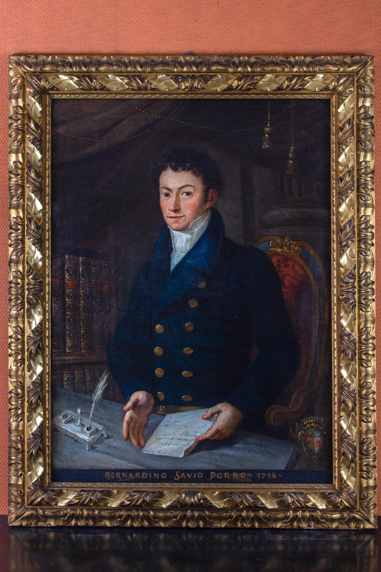 Portrait of Young Nobleman 1796 Oil on Canvas  1