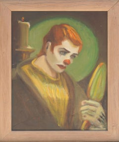 Pulp Art -- Clown Portrait