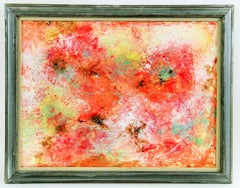 Red Palette Abstract Painting