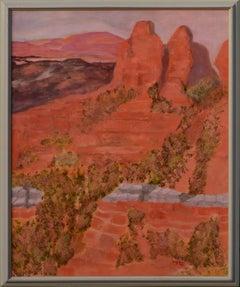 Red Rocks Southwest Desert Landscape