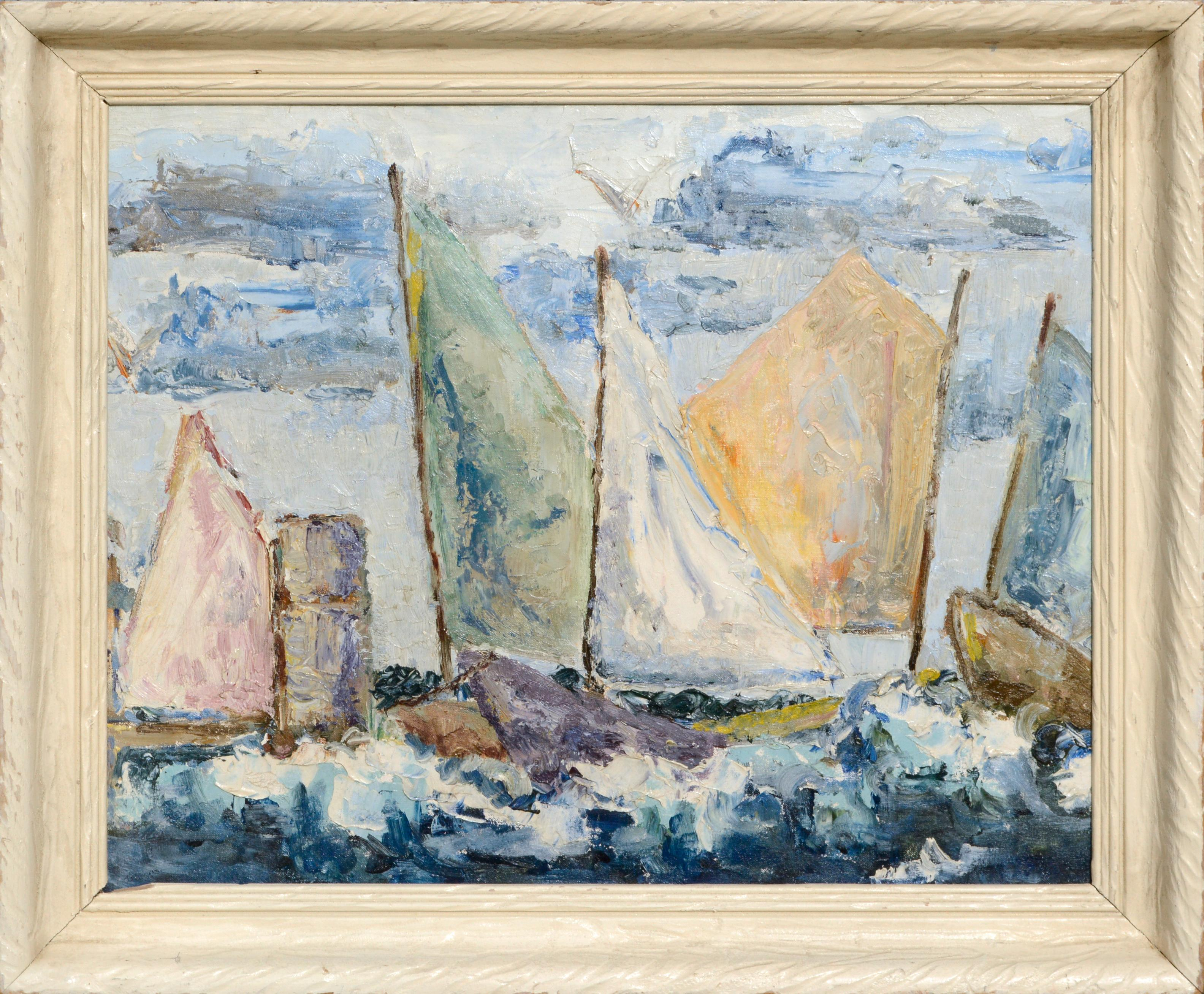 Regatta - Sailboat Race Seascape