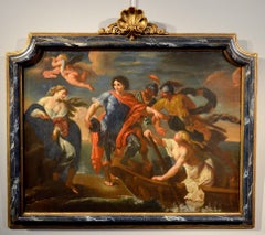 Renaud and Armide Paint Oil on canvas Old master Italy Mythological Imperiali