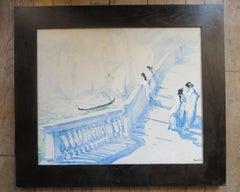 Rialto Bridge in Venice by Louis Degallaix