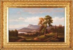 """Roger's Slide, Lake George, Adirondacks, New York,"" Hudson River School"