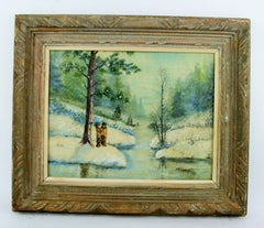 SALE STORE WIDE Hudson Valley Winter Painting