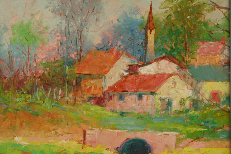 Impressionist French  Landscape Painting 1