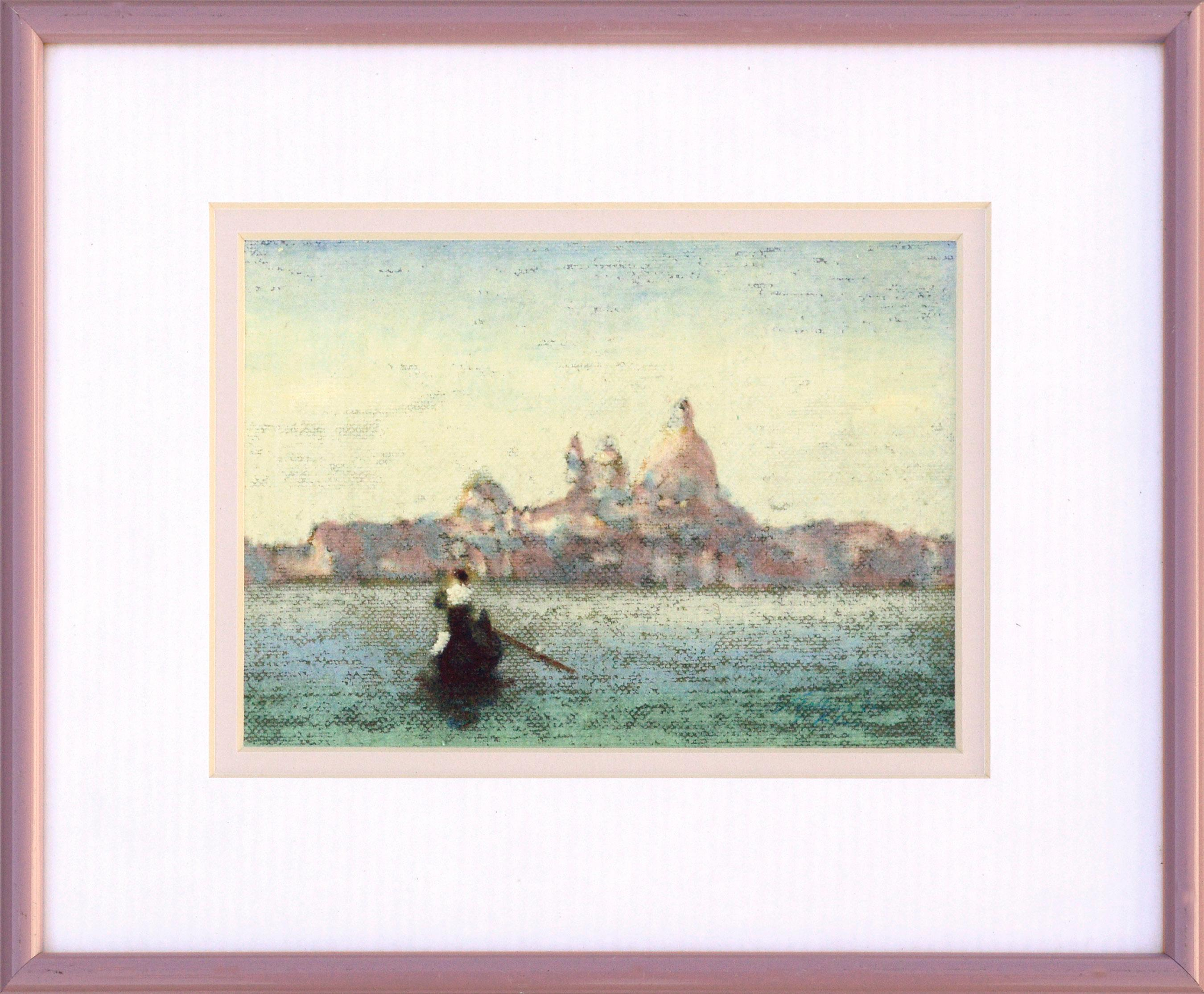 Santa Maria della Salute, Venice - Landscape with Gondola