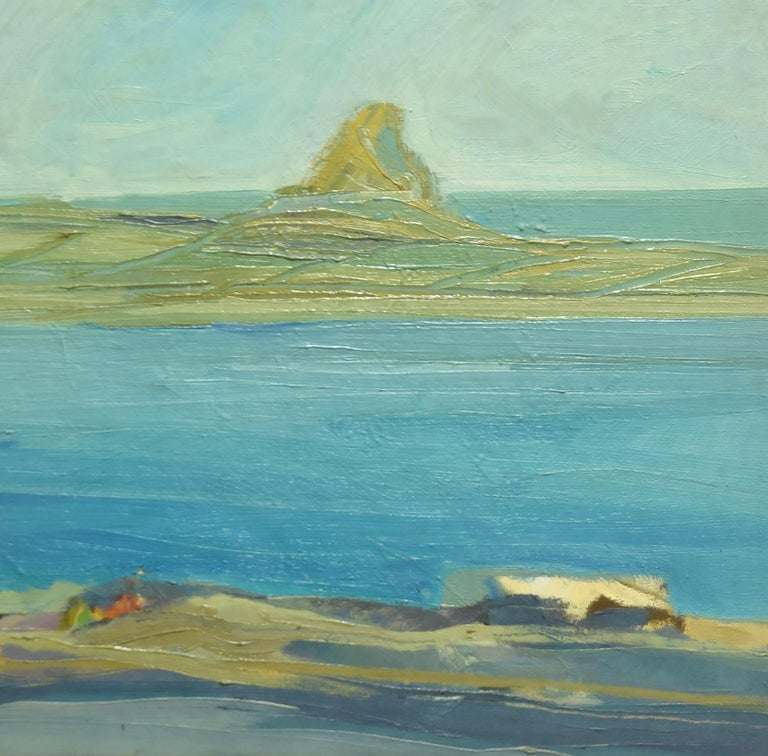 Seascape  - Oil on Canvas - Mid 20th Century - Painting by Unknown