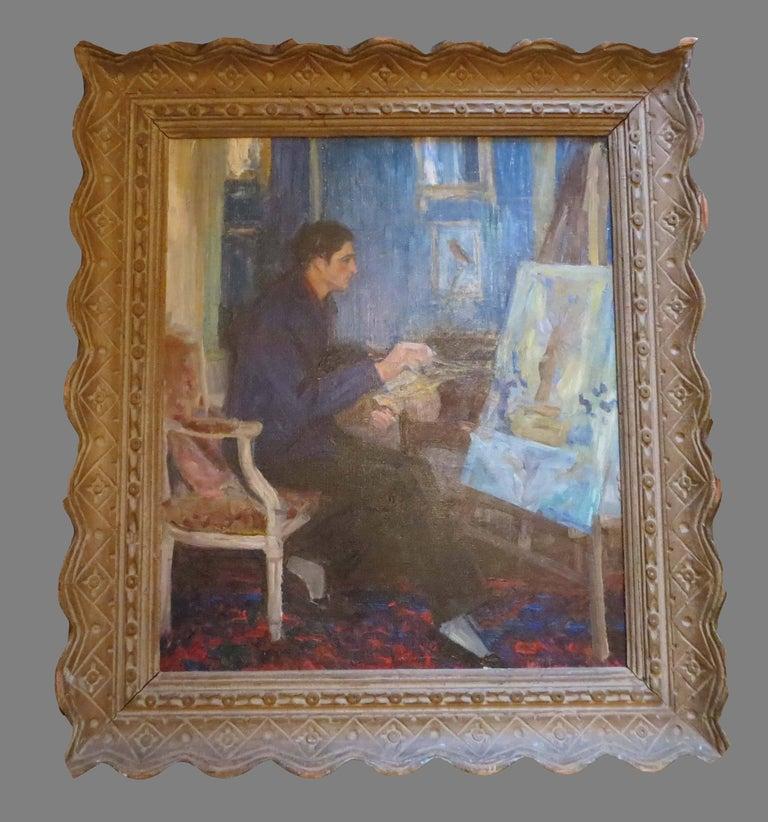 Self-portrait of the Painter