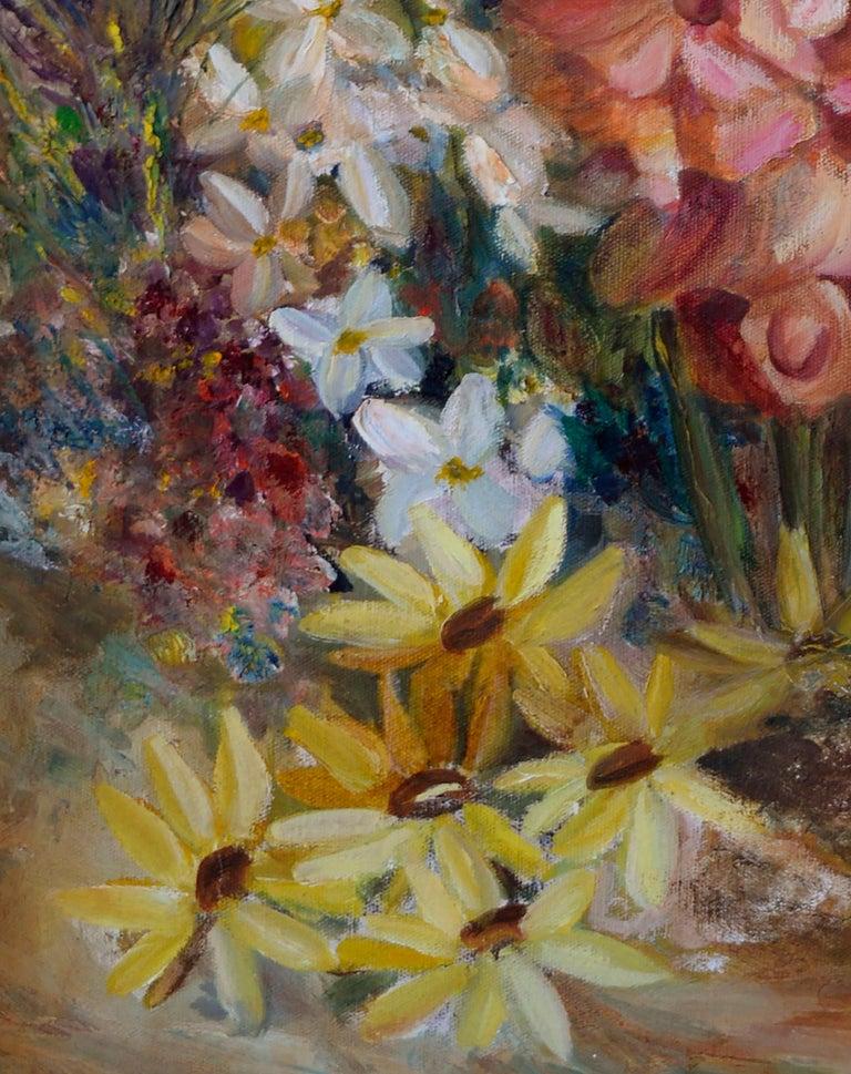 Spring Garden Flowers Still-Life  For Sale 1