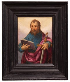 St Paul With Sword and Book, Mannerist School, Oil on Copper