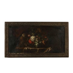 Still Life with Flowers and Monkey 18th Century