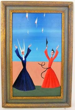 Surrealist Figural Painting