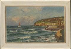 Svend Aage Arvidsen (1908-1981) - Mid 20th Century Oil, Danish Coastline
