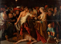 The Beheading of St John the Baptist  Flemish School