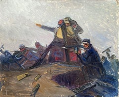 The Charge (Soviet Art)
