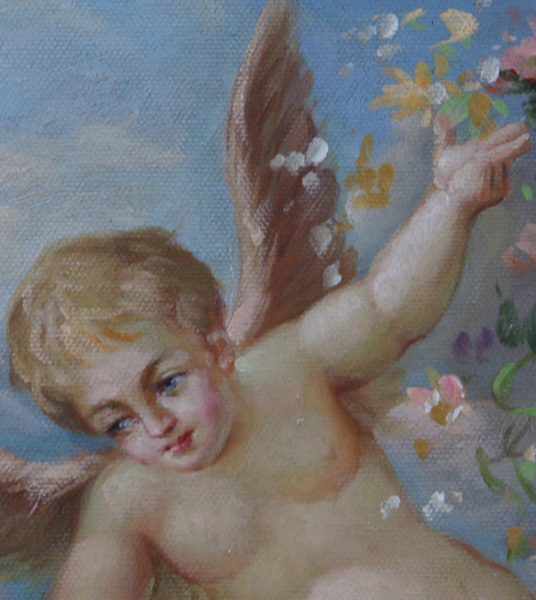 The Cherub - Victorian Painting by Unknown