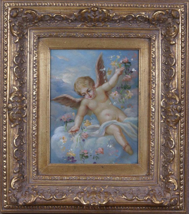 Unknown Figurative Painting - The Cherub