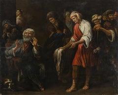 The Death of Joseph - Unknown Painter North European School - 19th Century