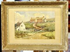 The English Countryside - Watercolor by John Barker-Wyatt