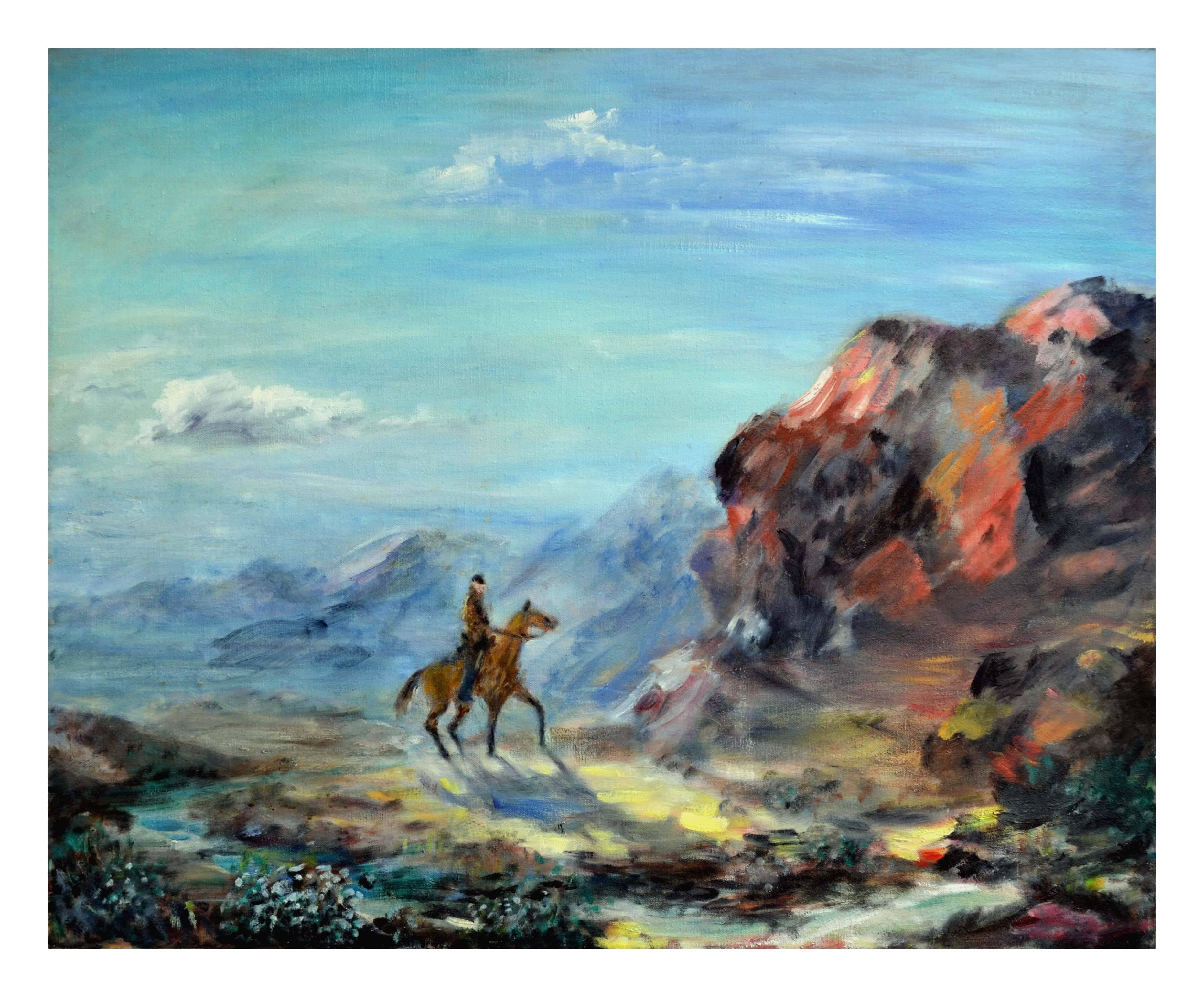 The Lone Navajo Horseman