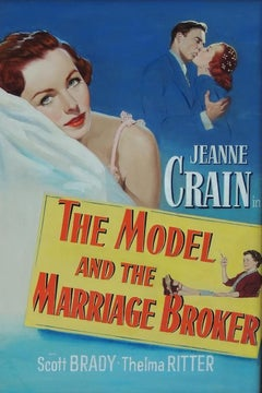 The Model and The Marriage Broker, Movie Poster