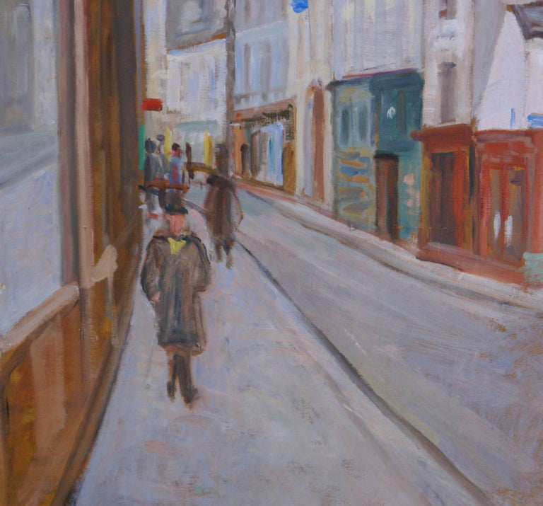 The Red Cafe - Impressionist Painting by Unknown