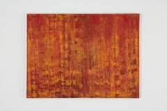 The Red Forest Modern Abstract