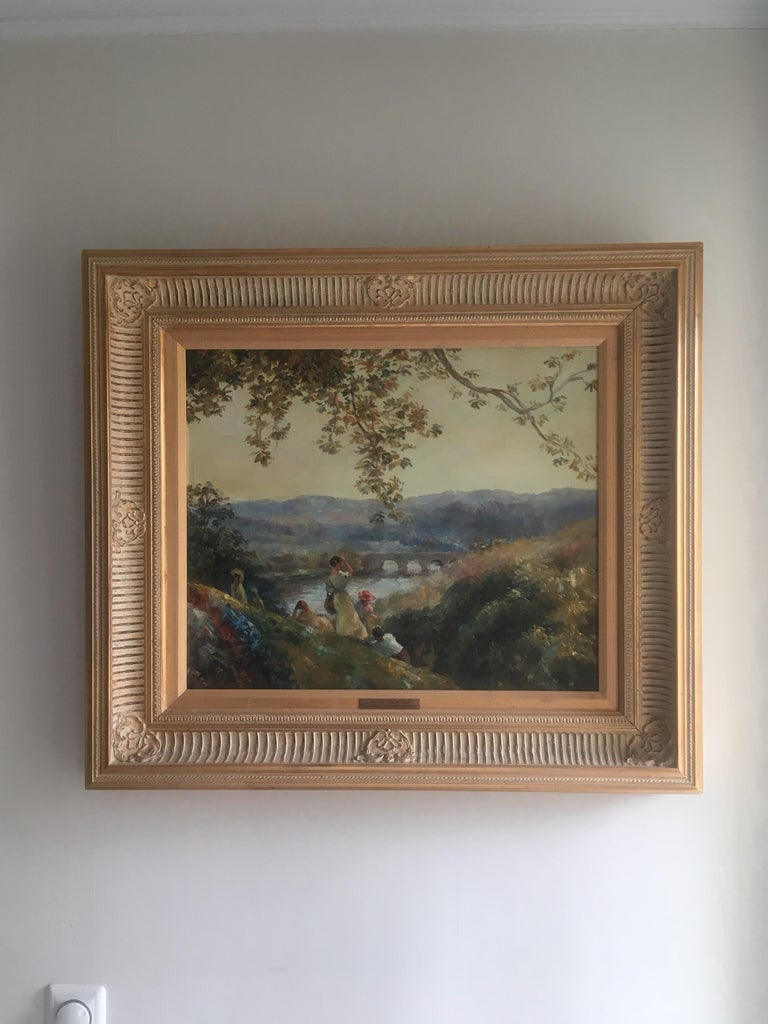 The View from St. Cloud - Painting by Unknown