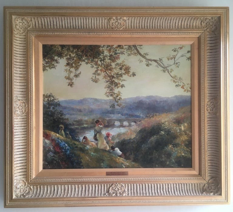 Unknown Landscape Painting - The View from St. Cloud