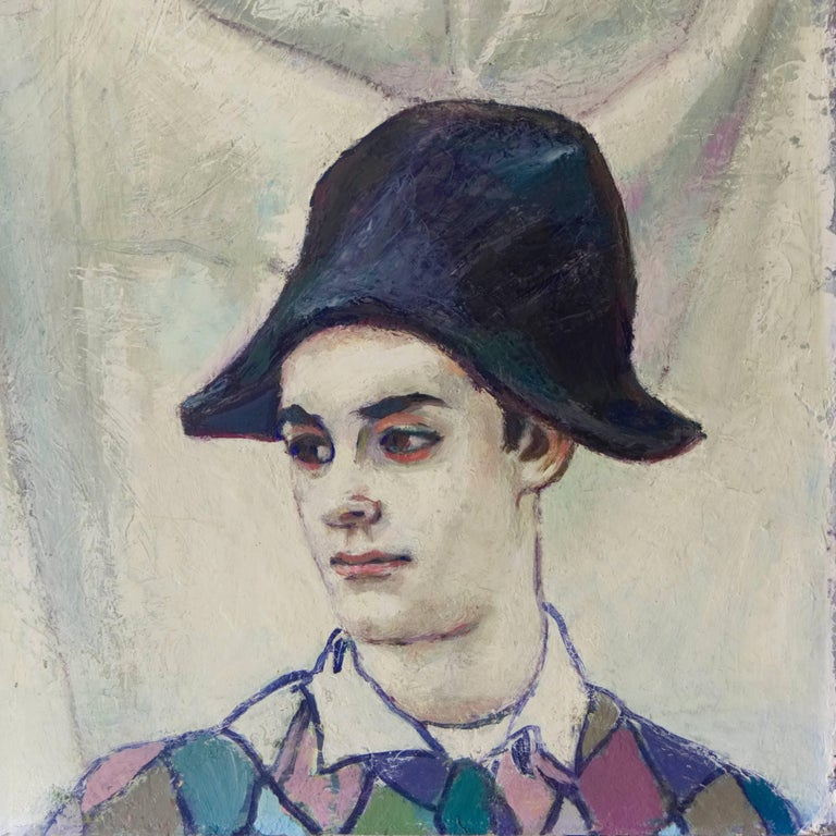 The Young Harlequin - Painting by Unknown