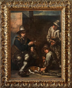 Three Beggars — Lombard School Painting