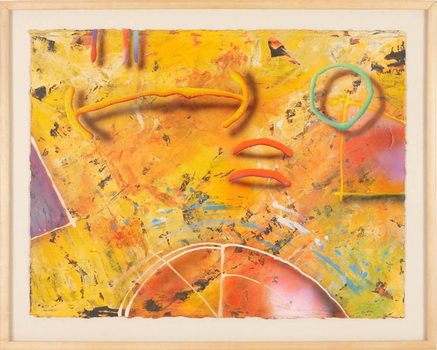 Unknown - Graffiti Art #2 by S. Mooney, Painting For Sale at 1stdibs