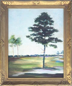 Tree on the Green Landscape