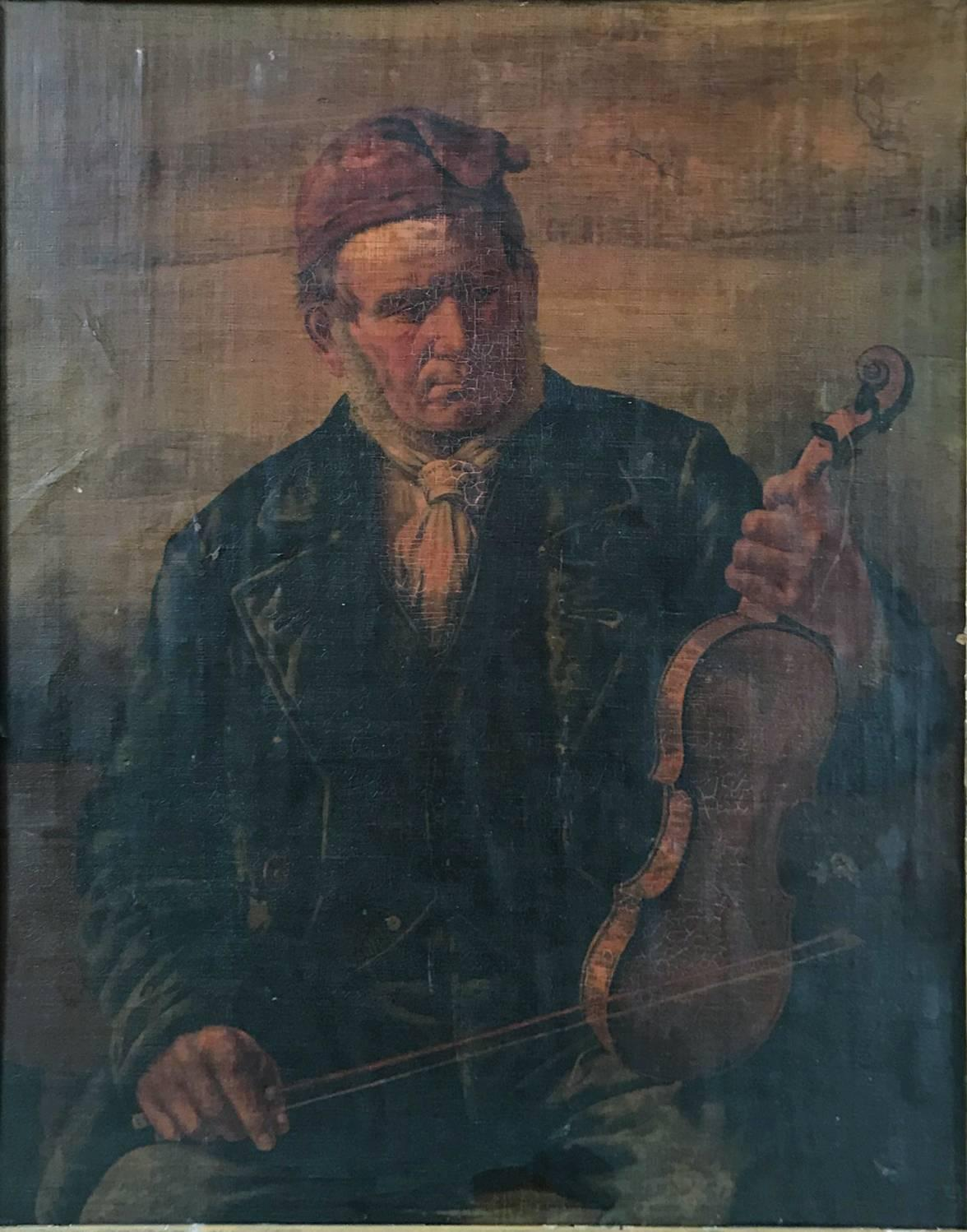 Untitled (Man with Violin)