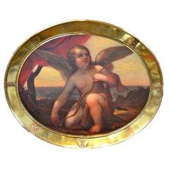 Venetian Baroque Kneeling Cupid
