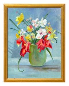 Vibrant Spring Bulb Still Life