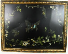 Victorian Birds and Flowers circa 1890's