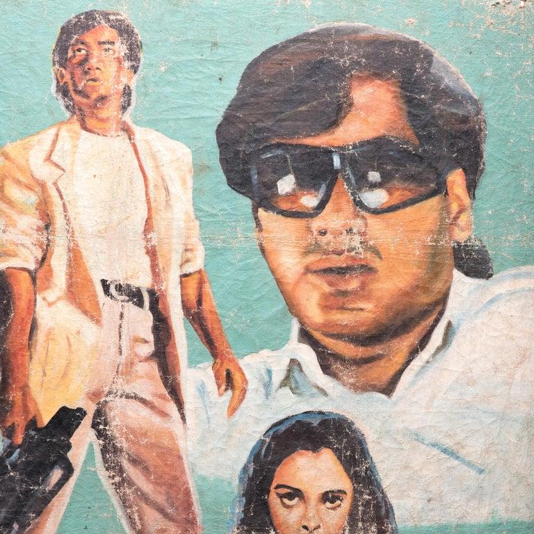 Vijaypath Movie Poster - Pop Art Painting by Unknown