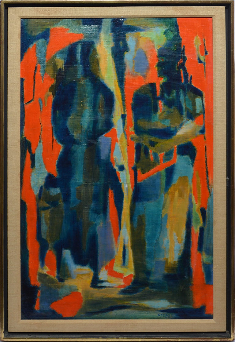 jazz Modern Contemporary Original Abstract Art Canvas