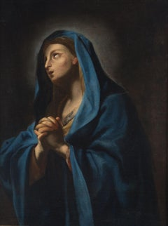 Virgin - Original Oil Painting - 1650s