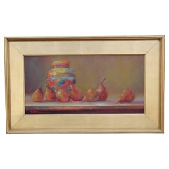 Vivid Impressionist Still Life Painting By P.K. King