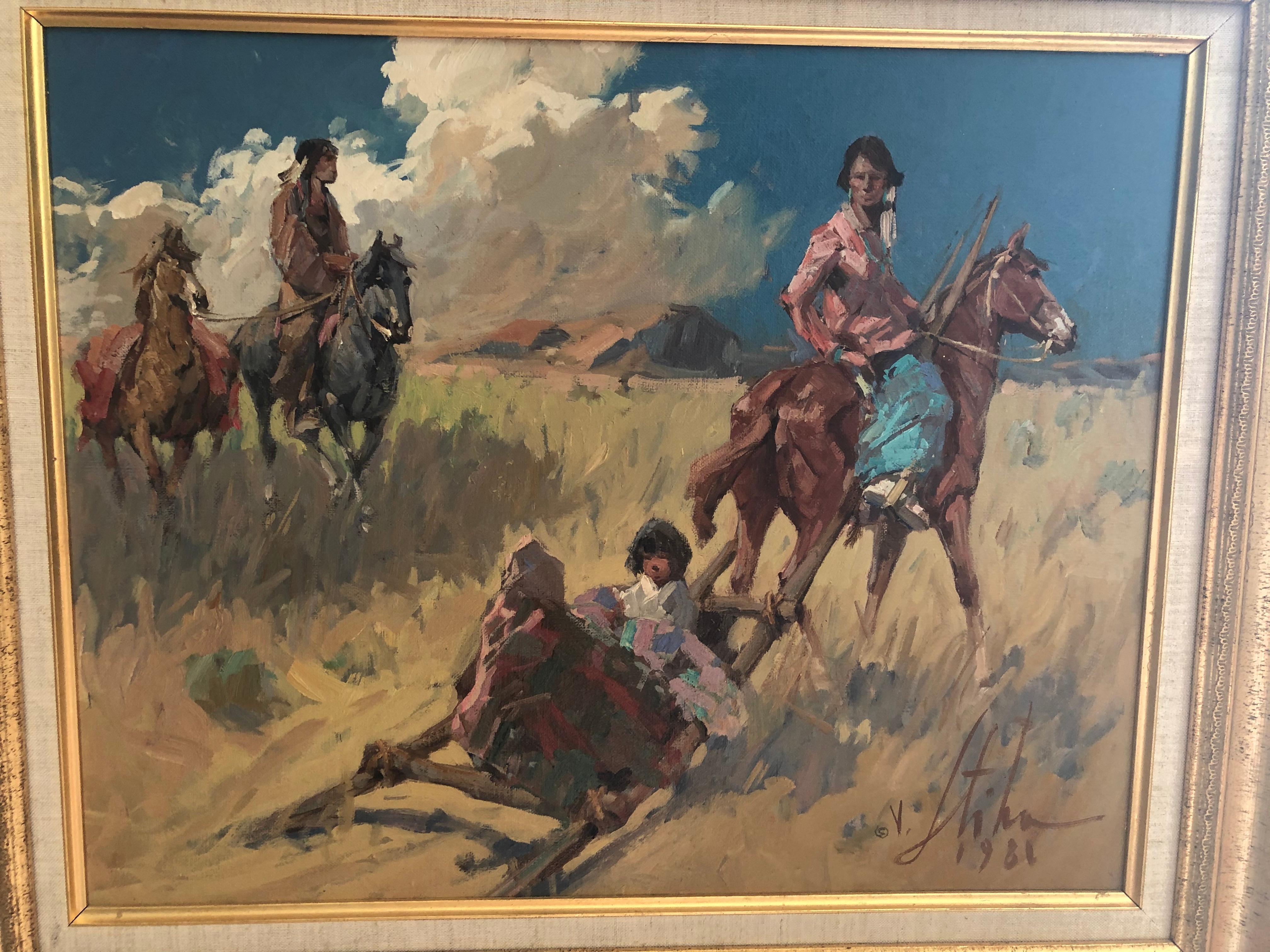 Vladan Stiha Native Americans in New Mexico